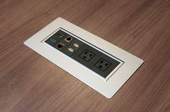Conference Table Power Outlet Box