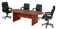 Cherry Conference Table with Chairs