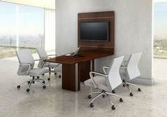 Conference Table Media Center