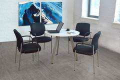 Round Conference Table for 4