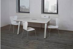 Small White Conference Table