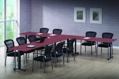 T Shaped Conference Table