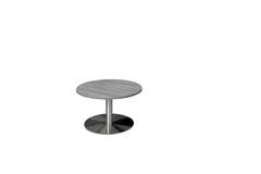 Round Gray Conference Table