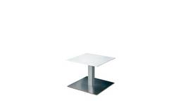 Square White Conference Table