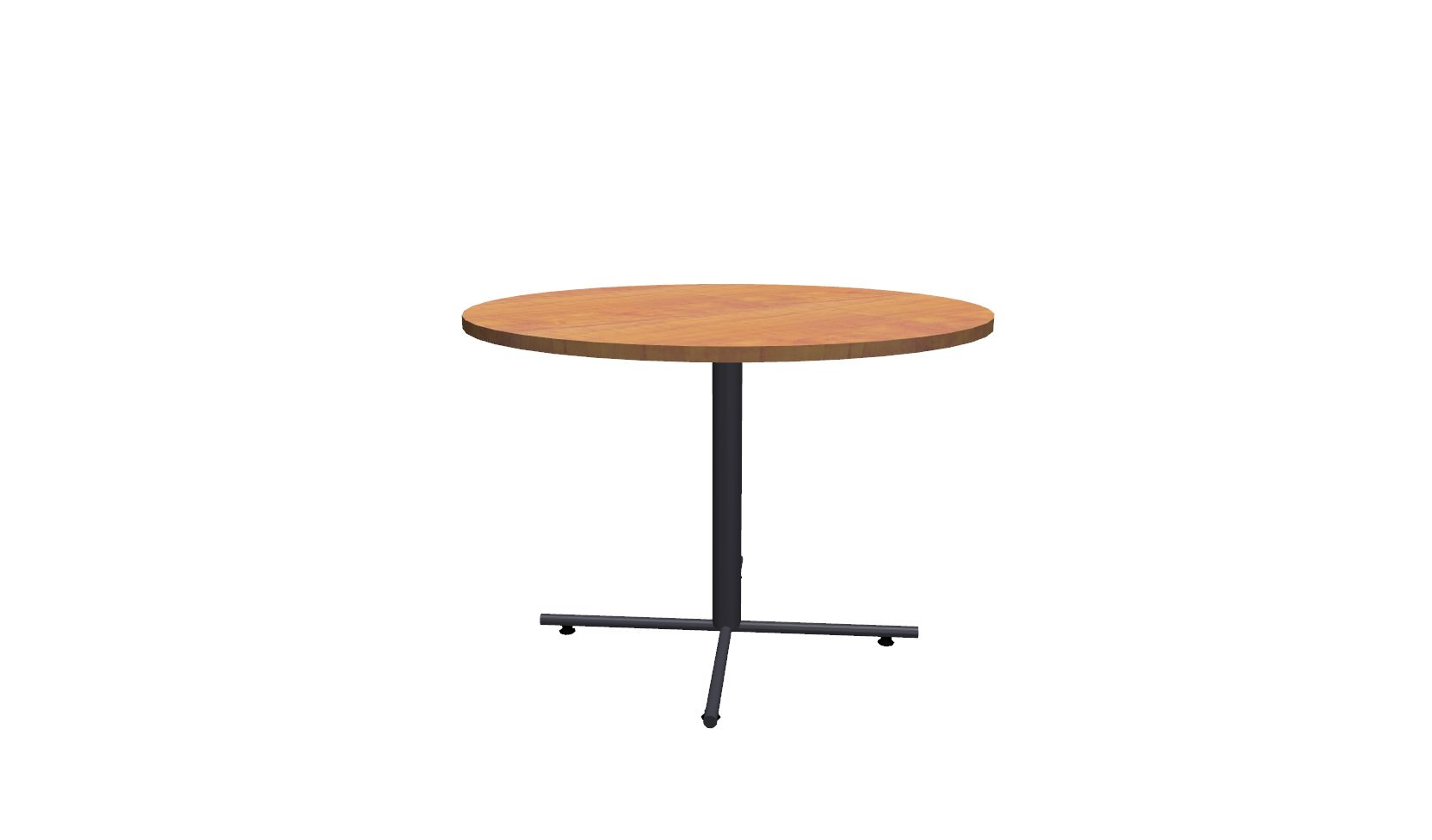 Inch Round Conference Table Honey Black - 42 inch round conference table