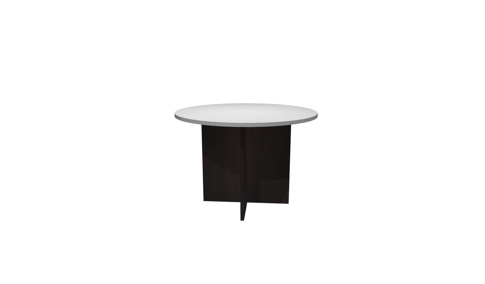 Inch Round Conference Table White Mahogany - 42 inch round conference table