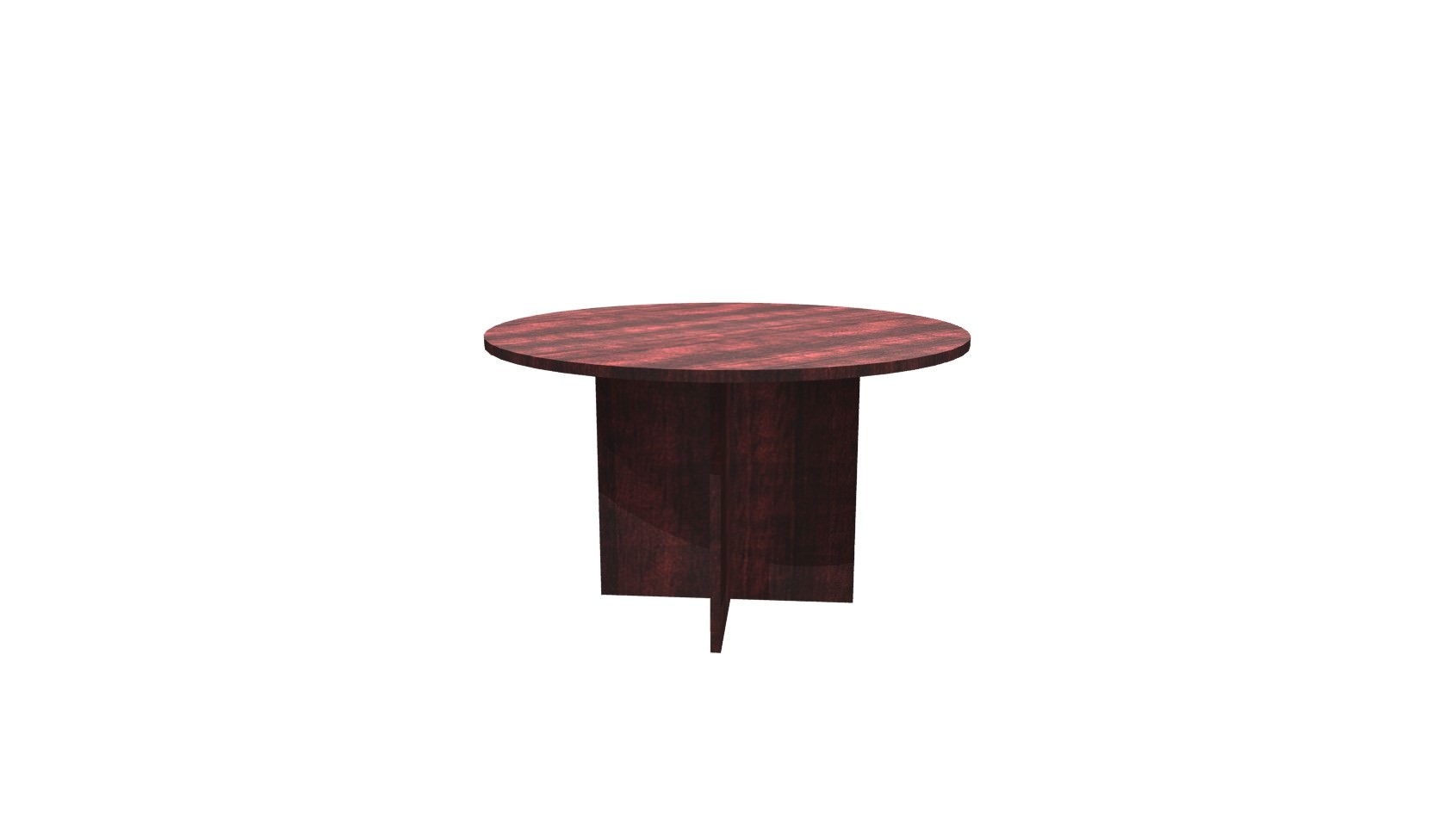 Inch Mahogany Round Conference Table - 48 inch round conference table